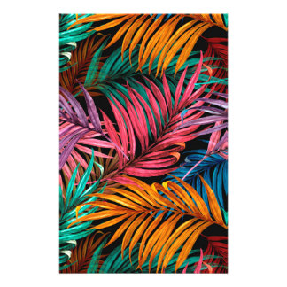 Fullcolor Palm Leaves Stationery
