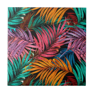 Fullcolor Palm Leaves Tile