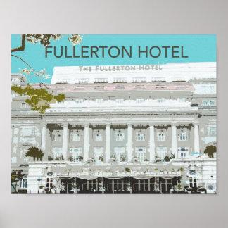 Fullerton Hotel Poster