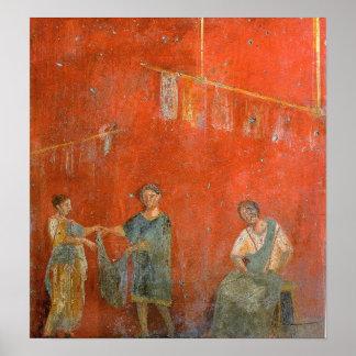 Fullonica of Veranius Hypsaeus Poster