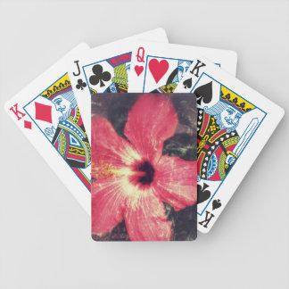 fullsizeoutput_1100Hibiscus Bicycle Playing Cards
