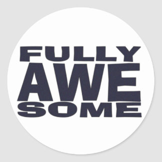 Fully Awesome Stickers