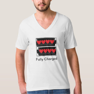 Fully Charged Couple Shirt for Men
