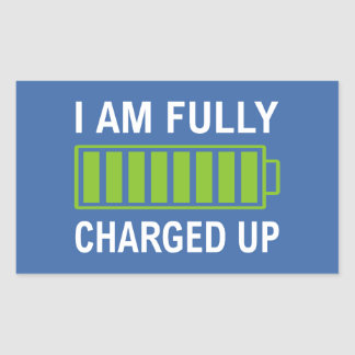 Fully Charged Sticker
