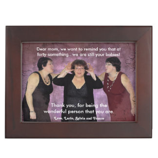 Fully customizable Mother's day Keepsake Box