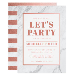 Fully Customizable Party Invitation