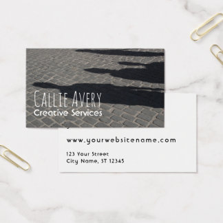 Fully-Editable, Photo-Based Creative Industries Business Card