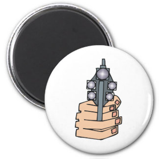 Fully Loaded 2 Inch Round Magnet