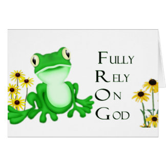 Fully Rely- Notecards Card