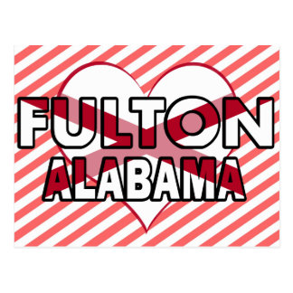 Fulton, Alabama Postcard