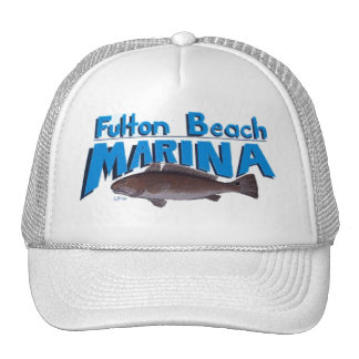 FULTON BEACH MARINA MESH HATS