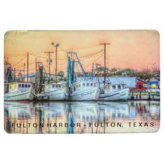 """Fulton Harbor Icons"" Floor Mat"