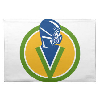Fumigation Pest Control Service Icon Placemat
