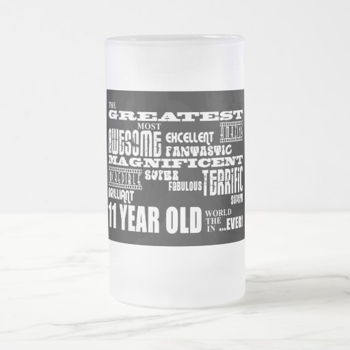 Fun 11th Birthday Party Greatest Eleven Year Old Mugs