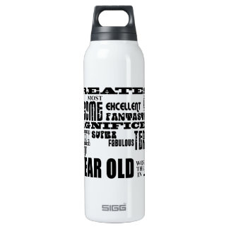 Fun 11th Birthday Party Greatest Eleven Year Old SIGG Thermo 0.5L Insulated Bottle