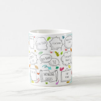 FUN 1968 yr born THIS IS YOUR LIFE add MILESTONES Coffee Mug