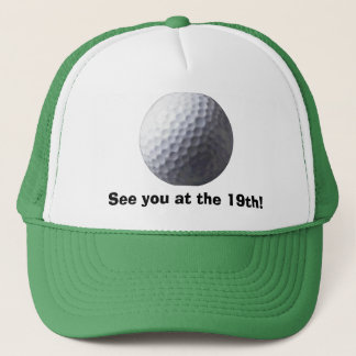 Fun 19th Hole GOLFING Hat