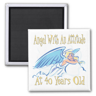 Fun 40th Birthday Gifts Fridge Magnets