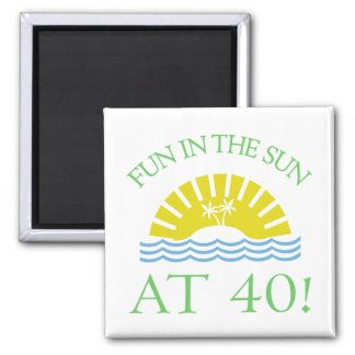 Fun 40th Birthday Gifts Magnet