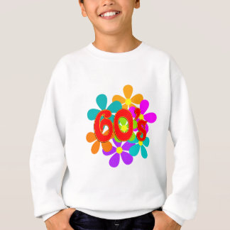 Fun 60's Flowers Sweatshirt