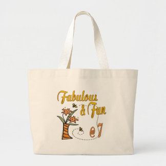 Fun 7th Birthday Gifts Canvas Bags