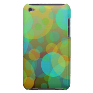 Fun Abstract Circles Orbs Modern Art iPod Touch Covers