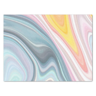 Fun Abstract marble pattern party tissue paper