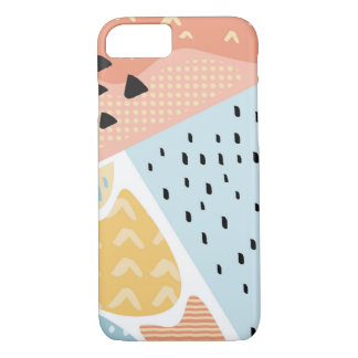 Fun Abstract Shapes 1 Phone Case