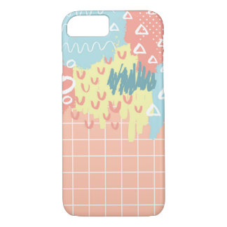 Fun Abstract Shapes 3 Phone Case