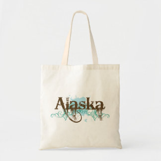Fun Alaska Grunge T-shirt Gift Tote Bag
