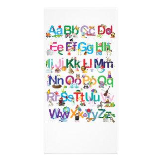 Fun Alphabet Photo Card