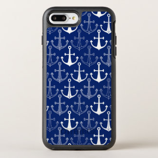 Fun Anchor Pattern OtterBox Symmetry iPhone 8 Plus/7 Plus Case