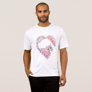 "Fun and casual Cat Dog ""Love Ya"" shirt design 2"