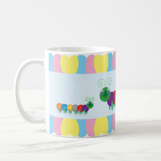 Fun and cute Caterpillars Coffee Mug