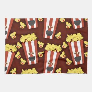 Fun and Fresh Movie Popcorn Kitchen Towel