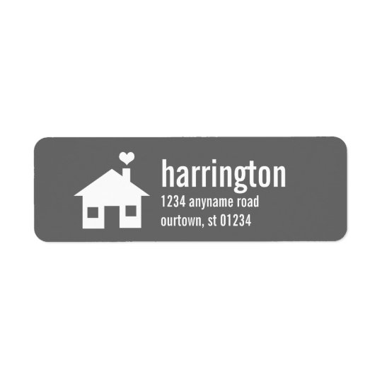 Fun and Modern Custom Address Label