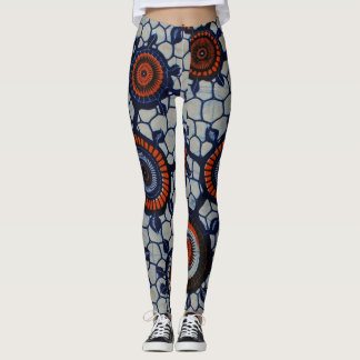 Fun and sporty  Lady African Pattern Leggings
