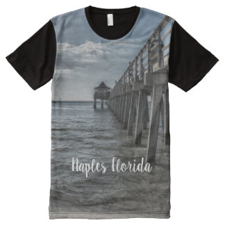 Fun and Sun in Naples All-Over-Print T-Shirt