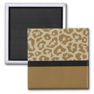 Fun and Whimsical Leopard print magnet