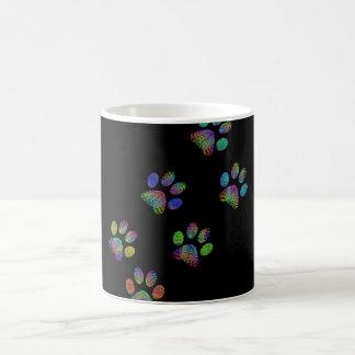 Fun animal paw prints. coffee mug