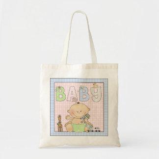 Fun Animals Baby Toys Theme Diaper Tote Bag