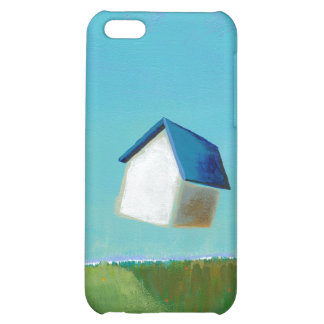 Fun art flying house Meet Me in St. Louis painting iPhone 5C Cases