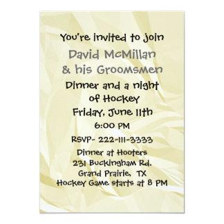 Fun Bachelor Party Invitation