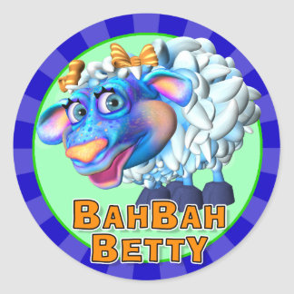 Fun Bah Bah Betty Stickers