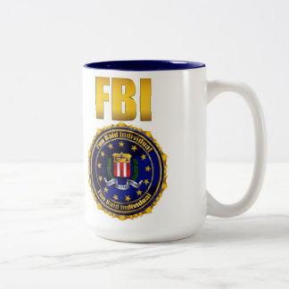 Fun Bald Individual Two-Tone Coffee Mug