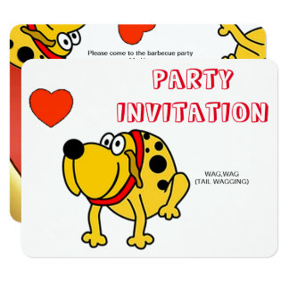 FUN BARBEQUE INVITATION