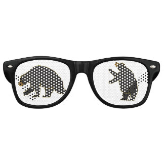 Fun Bear Glasses Party Sunglasses