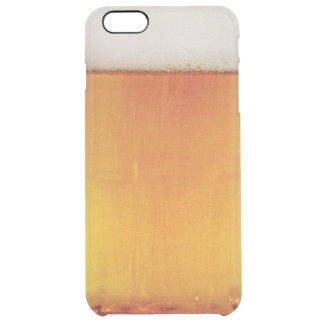 fun beer clear iPhone 6 plus case