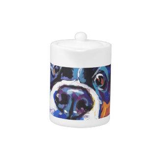 FUN Bernese Mountain Dog pop art painting