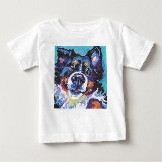 FUN Bernese Mountain Dog pop art painting Baby T-Shirt
